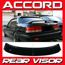 JDM 1991 Honda Accord 4 Door Sedan CB Rear Window Roof Spoiler - Sun Deflector