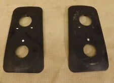 CLASSIC MINI ADAPTOR PLATES TO CONVERT MK3 ONWARDS TO MK1 REAR LIGHTS (PAIR)