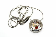 BRACCIALE DISNEY ROUND LOCKET NECKLACE FLOATING SNOW WHITE DOPEY FLOATING CHARMS