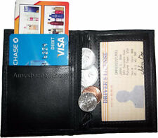 New Slim compact Business 4 Credit Card 2 IDs Zip Change Purse Low price BNWT