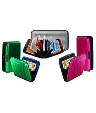 50 Piece Set Aluminium Wallet Cash Credit Card Holder Unisex Wallet Purse