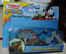 Thomas and Friends Take n Play THE SCRAP MONSTER Portable NEW