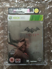 BRAND NEW FACTORY SEALED  BATMAN ARKHAM CITY STEELBOOK VGA / UKG GRADED 90 GOLD