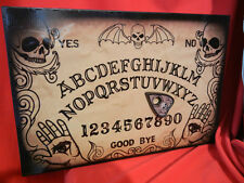 LIFESIZE ANIMATED OUIJA SPIRIT BOARD HALLOWEEN DISPLAY PROP - TALKS - MOVES