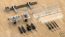 Multi Function Jig Set Minifix & Hinge & Handles All in One Drill Guide
