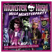 MONSTER HIGH - ORIGINAL HÖRSPIEL ZUM FILM: MEGA MONSTERPARTY (1) CD KINDER NEU