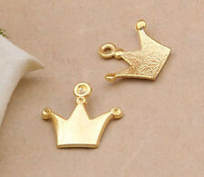 15pc Tibetan Gold(Imperial crown)Bead Charms Accessories wholesale PJ2483