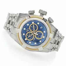Invicta 22157 Mens Reserve Bolt Zeus Blue Dial Swiss Chronograph Bracelet Watch