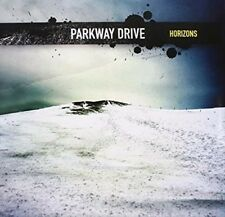 Parkway Drive Horizons (Transparent Blue With Yellow Splatter) vinyl  NEW sealed