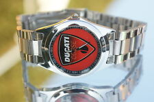 UHR DUCATI  MONSTER  MULTISTRADA  DIAVEL STREETFIGHTER ARMBANDUHR CLOCK WATCH