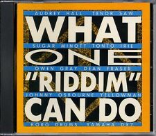 REGGAE / YELLOW MAN / TENOR SAW / AUDREY HALL / WHAT ONE RIDDIM CAN DO / SEALED