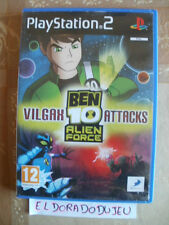 ELDORADODUJEU     BEN 10 ALIEN FORCE VILGAX ATTACKS Pour PLAYSTATION 2 PS2 VF