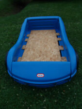 LITTLE TIKES SPORT RACING DESIGN CHILD SIZE TODDLER BED VERY NICE CONDITION