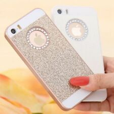Bling Diamond Rhinestone Lady Girl Back Protect Case Cover For Apple iPhone 6