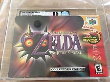 VGA 85 Legend Of Zelda: Majora's Mask COLLECTORS EDITION N64 New Sealed
