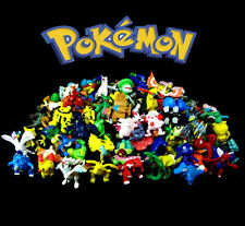24pcs Pokemon Monster Auction Figures Pikachu Japan Anime Lots Mini toys HOT A2