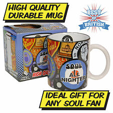 NORTHERN SOUL MUG - Mod Vespa Scooter Moped Music - Coffee Tea Kitchen Home BNIB