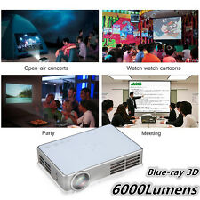 6000Lumens 1080P Android DLP WiFi Bluetooth 3D Home Theater Projector RJ45 HDMI