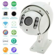 KKMOON H.264 HD 1080P 2.8-12mm Auto-focus PTZ Wireless WiFi IP Camera CCTV T5L4
