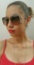ROBERTO CAVALLI MARUTEA RC725S 08B Womens Oversized Square Sunglasses Gradient