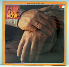 SEALED  DOC & MERLE WATSON THEN AND NOW LP POPPY PP- LA022-F 1973