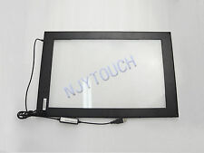 New 19 Inch Infrared Touch Screen Panel Frame USB Win 7 Dual Touch DIY Kit 16:10