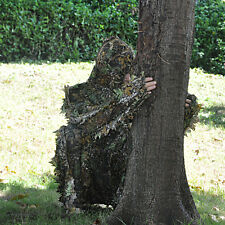 Camo 3D Camouflage Leaf Ghillie Suit Hunting Yowie Jungle Bionic Military Train