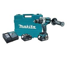 """NEW MAKITA XPH07M CORDLESS 18 VOLT LXT 1/2"""" HAMMER DRILL DRIVER KIT WITH CASE"""