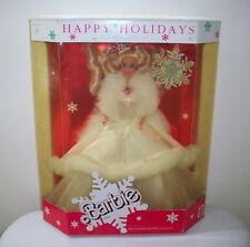 1989 Happy Holidays Barbie Doll Special Edition NIB