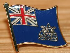 ASCENSION ISLAND Country Flag Metal Lapel Pin Badge
