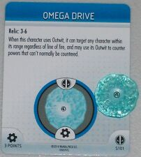 OMEGA DRIVE S101 Deadpool Marvel HeroClix OP LE special object