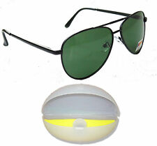 Green Polarised Original Sunglasses 100% UV Protected SunGlasses Dust Protection