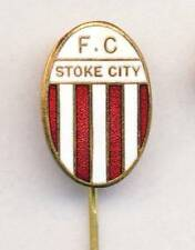 old STOKE CITY F.C. Football PIN BADGE Soccer ENGLAND UK