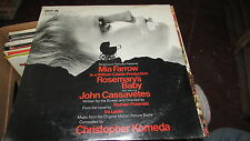 ROSEMARY'S BABY DOT SOUNDTRACK LP SEALED CHRISTOPHER KOMEDA ROMAN POLANSKI