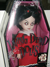 Living Dead dolls      SIN . . 13th anniversary collector doll!  2009