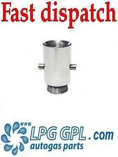 GASLOW 01-4350 UK Bayonet Adapter GAS MOTORHOME CARAVAN LPG