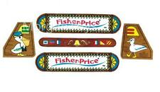 FISHER-PRICE FERRY BOAT #932 REPLACEMENT LITHOS STICKERS Little People NEW