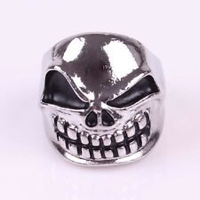 Vogue  Men Stainless Steel 316L SIZE9.25 Travelling Silver Link Mask Ring SF0015