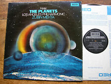 SXL 6529  HOLST: THE PLANETS  ZUBIN MEHTA / LAPO     TAS LIST     NM