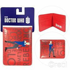 New Doctor Who 100% Rebel Time Lord Bi-Fold Wallet Peter Capaldi BBC Official
