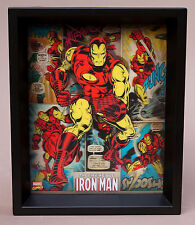 "Marvel Comics 3D Hologram The Invincible Iron Man 11.5"" x 9.5"" Lenticular Art"