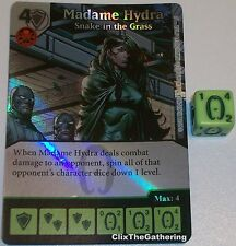 Foil MADAME HYDRA: SNAKE IN THE GRASS 64 Deadpool Dice Masters