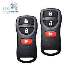 2 Keyless Entry Remote Key Fob Clicker Replacement fit 2002-2014 Nissan Xterra