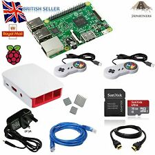 Raspberry Pi 3 16GB retropie SNES  official case 5V 3A  Emulation Retro Gaming