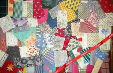 ❤LAURA ASHLEY❤CATH KIDSTON❤LIBERTY❤30+ MIXED FABRIC SCRAP QUILTING CRAFT CARD