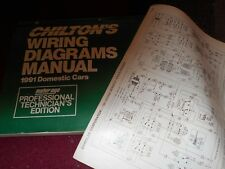 1991 OLDSMOBILE 88 ROYALE OVERSIZED WIRING DIAGRAMS SCHEMATICS MANUAL SHEETS SET