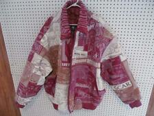 Al Wissam Leather Jacket Coat - SCARFACE Al Pacino Red & White Size 58