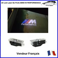 2X Lumiere Led Logo De Porte Projecteur Badge Insigne Tuning Bmw M Performance