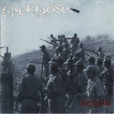 Overdose - Scars - 1996 Fierce Thrash Metal NEW