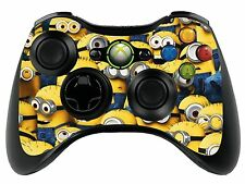 Minions Xbox 360 Remote Controller/Gamepad Skin / Cover / Vinyl Wrap xbr2